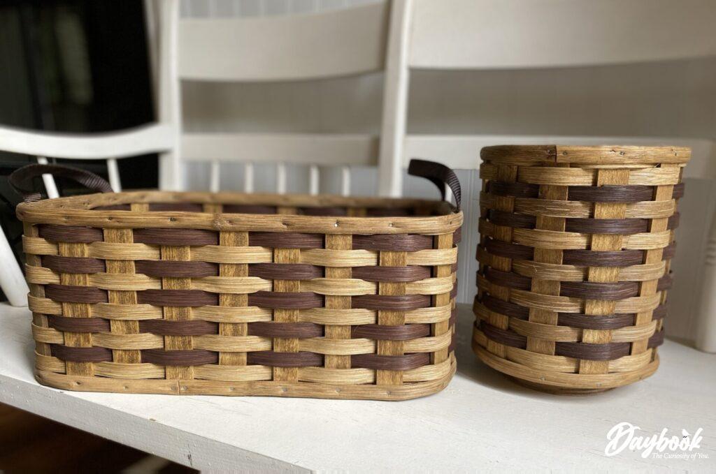 2 Amish baskets
